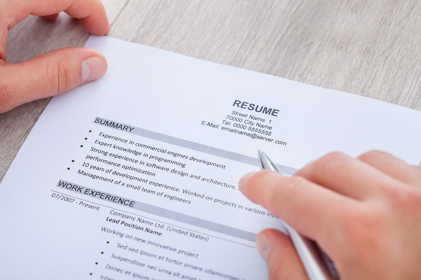 5 Things Your Resume Should Include